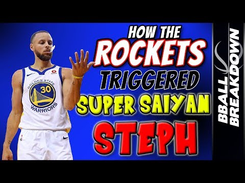 How The Rockets Triggered SUPER SAIYAN STEPH