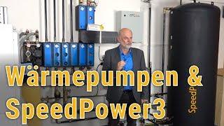 Wärmepumpe besser und schneller mit dem SpeedPower3 Heizsystem nutzen