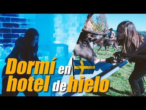 DORMÍ EN UN HOTEL DE HIELO - Nath Campos
