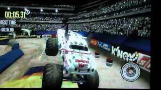 Monster Jam: Path To Destruction Wii (Review Lagoon Quick Look)