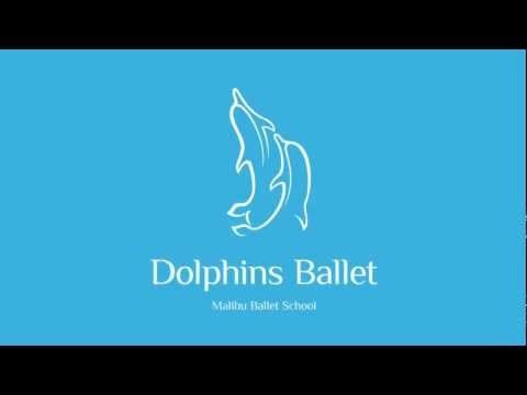 Malibu Dolphins Ballet - Intro Logo - by Swimming Wings Productions Inc
