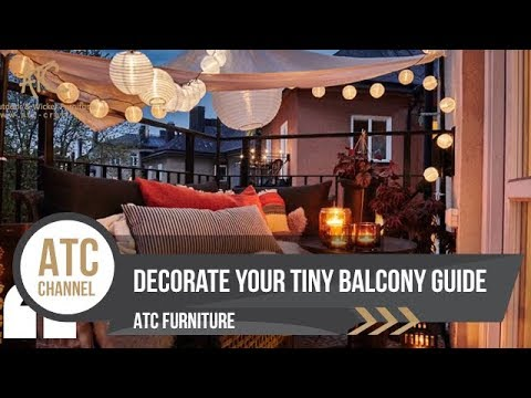 VIDEO BLOG: 14 Ways To Turn Your Balcony Into A Relaxing Place | 2017