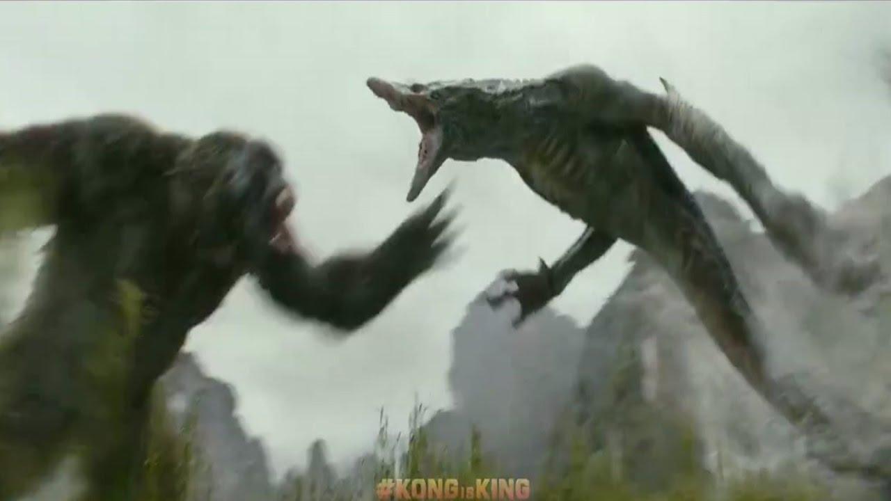 Hulk Vs Kong Skull Island