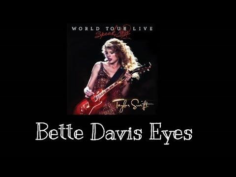 Taylor Swift - Bette Davis Eyes (Speak Now World Tour Live) Audio Official
