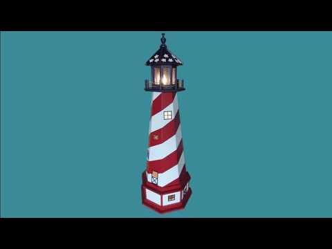 Decorative Lighthouses Custom Windmills for Lawn & Garden