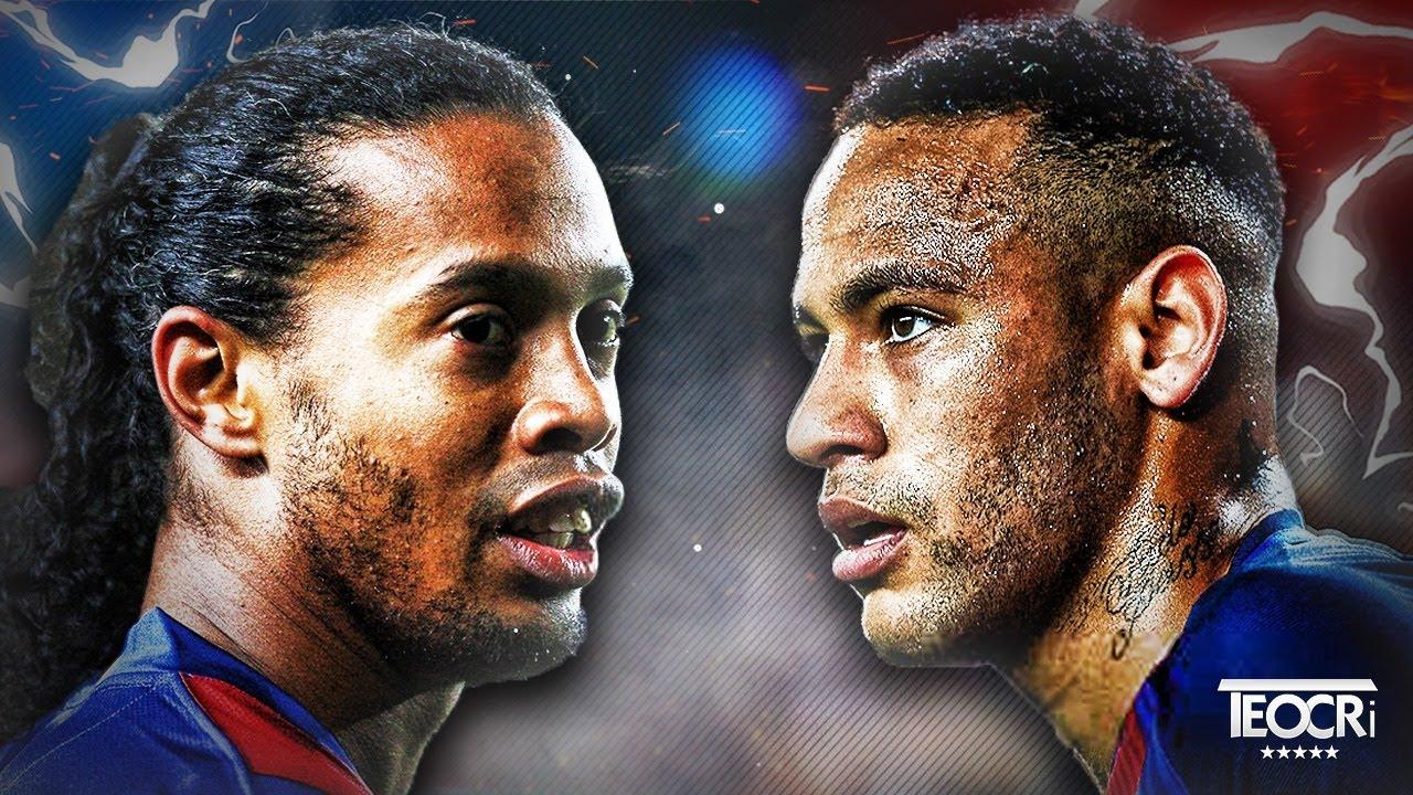 Neymar Jr vs Ronaldinho Gaúcho - Brazilian DNA