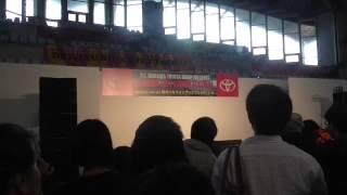 沖縄コンベンションセンター展示棟で行なわれたトヨタ秋のフルラインア...