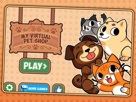 "My Virtual Pet Shop ""Simulation Games"" Android Gameplay Video"