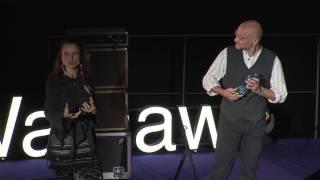 Życie lepsze od wakacji | Asia Pyrek & Edi Pyrek | TEDxWarsaw