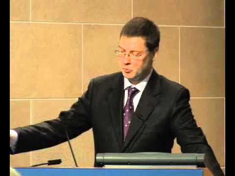 Dombrovskis : How Latvia Came Through the Financial Crisis