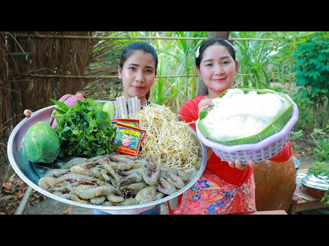 Shrimp Curry Rice Noodle Cooking – Cooking With Sros