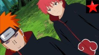 Pain und Sasori VS Orochimaru [HD]