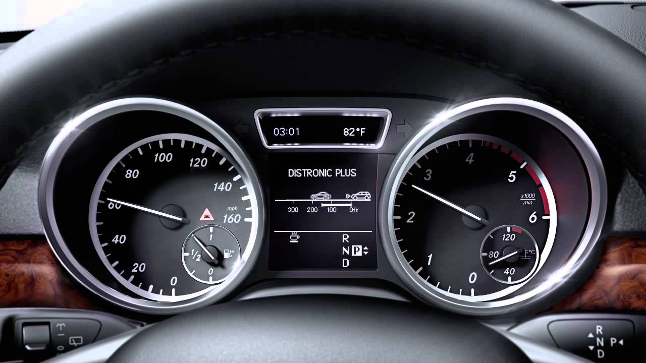 Pre safe and distronic plus vehicle safety technology for Mercedes benz distronic plus
