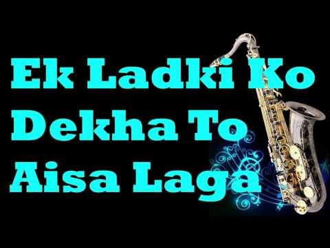 #132:-Ek Ladki Ko Dekha To Aisa Laga |1942: A Love Story | Kumar Sanu| Instrumental |Saxophone Cover