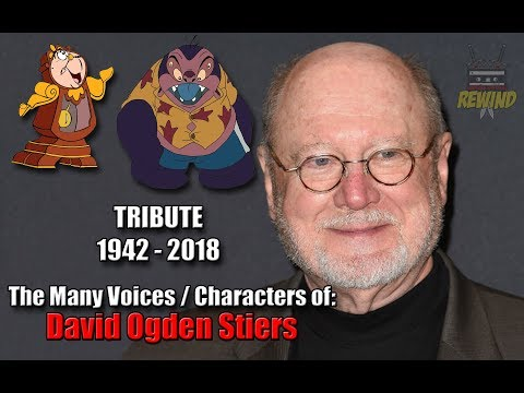 David Ogden Stiers TRIBUTE  In Memoriam The Many Voices  Characters of...