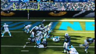 Madden 13 Gameplay- AFC CHAMPIONSHIP GAME- With Bonus Game- Panthers vs Lions