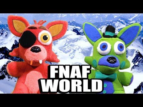 MMA Movie: FNAF World Plush 3 - Foxy vs. Foxy