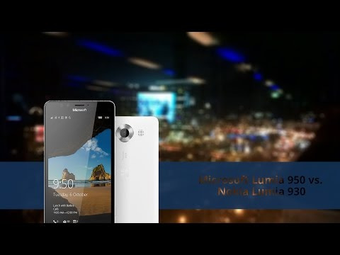 Microsoft Lumia 950 vs. NOKIA Lumia 930: Speed Comparison
