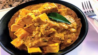 Paneer (Panir) Coconut Curry - Easy Indian Vegetarian Recipe
