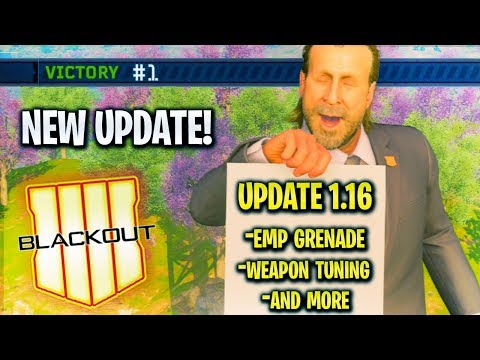 *NEW* Update 1.16 in Blackout😍 - EMP Grenade, Alcatraz NEW Location, NEW DLC Weapons & More!