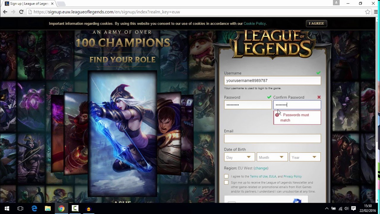 descargar league of legends 2019