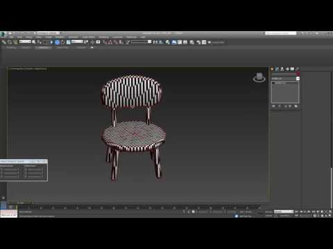 [3Ds Max] UV Mapping :  Chair