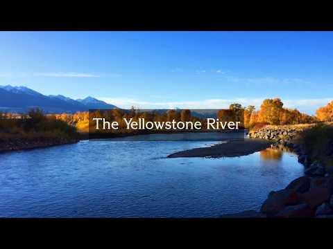 Fall On The Yellowstone River, Livingston, Montana