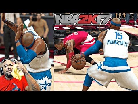 NBA 2K17 MyCAREER Gameplay - 2017 ALL-STAR GAME! RUSSELL WESTBROOK ANKLES BROKEN! (EP 20)
