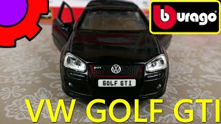 toy cars model car volkswagen golf gti 18 45115 metal kit 1 32 bburago