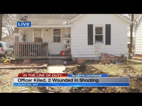 Clinton police officer killed, 2 other officers injured responding to 911 call