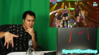 BLACKPINK​ - '휘파람(WHISTLE)' 0828 SBS Inkigayo REACTION.