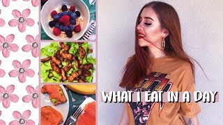 WHAT I EAT IN A DAY #SPRINGEDITION | cleotoms