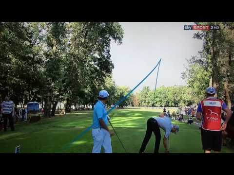 Golf ProTracer Compilation Italian Open 2016.