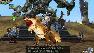 Order & Chaos Online MOUNT: Sand Skin Wolf