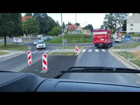 Feuerwehr Pöllau: Einsatzfahrt zur Unterstützung der FF Grafendorf (30.07.2018)