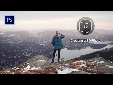 Create Facebook 3D Photos in Photoshop | Photoshop Tutorial thumbnail