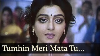 Tumhin Meri Mata Tu Hi Pita Hai - Bhabhi Movie Songs - Bhanupriya - Mata Devotional Song