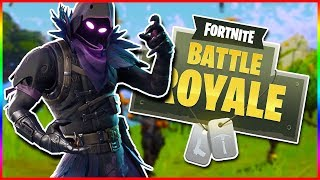 WINNING WITH THE NEW RAVEN SKIN | Fortnite Battle Royale