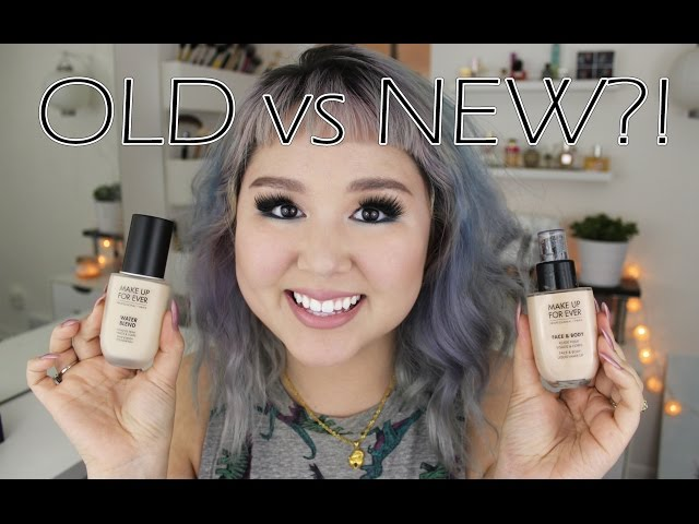 Make Up For Ever Water Blend Face & Body Foundation Review | Jessica Kent