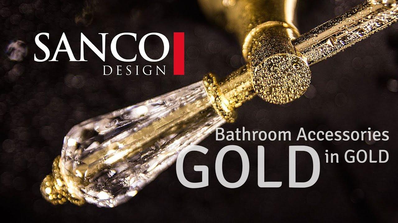 golden interior dubai style with luxury bathroom accessories collection mare youtube - Bathroom Accessories Dubai