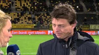 Jon Dahl Tomasson [pregame] Roda JC Kerkrade - FC Utrecht 25 januari 2014