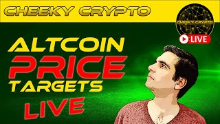 Price Targets \u0026 Crypto Chat with Cheeky Crypto News Today Live