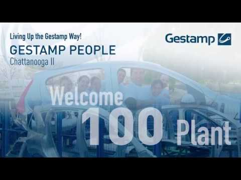 Gestamp People - Chattanooga II (The 100th plant in the Grou