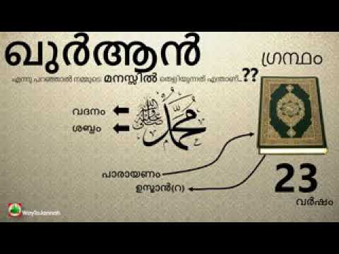 Quran a malayalam study