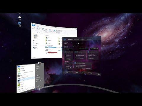 Virtual Desktop - Oculus Rift DK2 - Configuración y manejo.