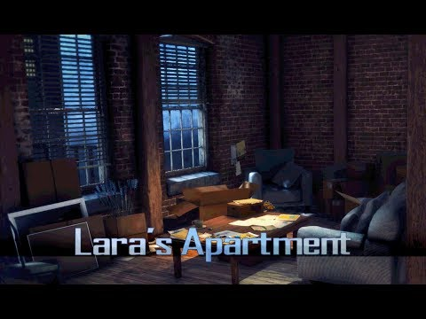 Rise of The Tomb Raider - Lara's Apartment (1 Hour of Ambience)