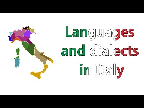Languages And Dialects Of Italy (with Audio For Each One)