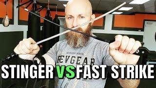 Fast Strike Vs. Stinger Tactical Self Defense Whips