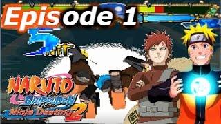 "Naruto Shippuden Ninja Destiny 2 (DS) | Part #1 ""Kazekage Gaara Rescue MISSION!!"""