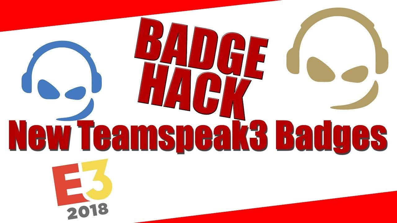 Teamspeak Codes For Badges   15/15